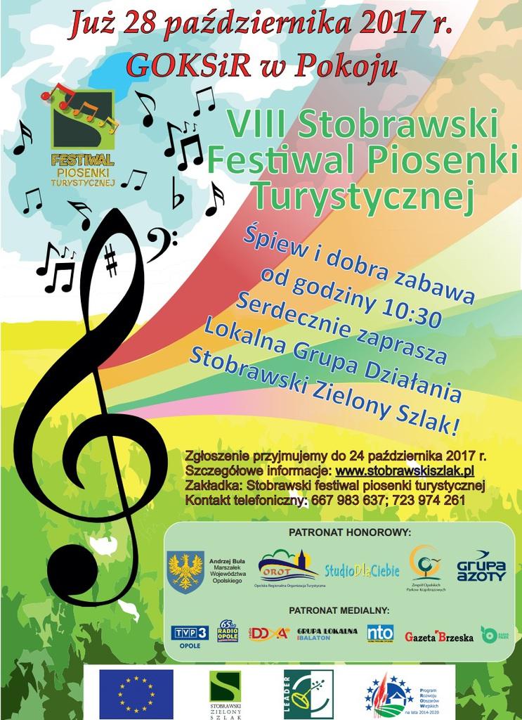 plakat VIII Stobrawski Festiwal Piosenki Turystycznej.jpeg
